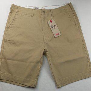 Levis 502 Men's Chino Shorts 32 33 34 Khaki Short